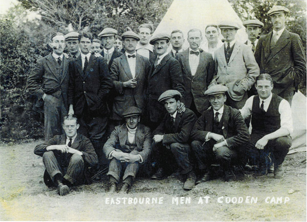 Eastbourne Men at Cooden Camp